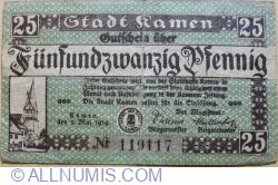 Image #1 of 25 Pfennig 1919 - Kamen