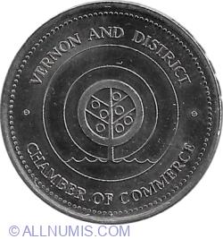 Image #2 of 1 dollar 1983 - Vernon (Chamber of Commerce)