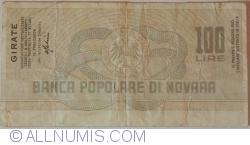 100 Lire 1977 (20. I.) - Novara (ASSOCIAZIONNE DETTAGLIANTI TESSILI E ABBIOLIAMENTO DELLA PROVINCIA DI MILANO)
