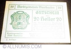 Imaginea #1 a 20 Heller ND - Mauthausen (A II-a emisiune - 2 Auflage)