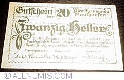 Imaginea #1 a 20 Heller ND - Mauthausen