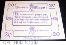 Imaginea #2 a 20 Heller 1920 - Alkoven