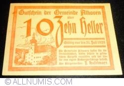 10 Heller 1920 - Alkoven