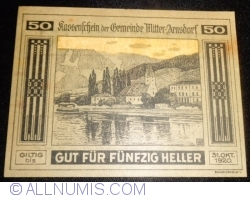 50 Heller 1920 - Mitter-Arnsdorf