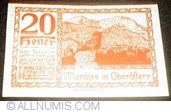 Imaginea #2 a 20 Heller ND - Mondsee