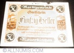 Image #1 of 50 Heller ND - Mauerkirchen