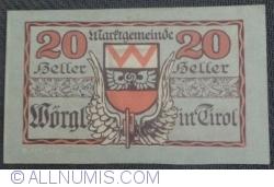 Imaginea #1 a 20 Heller ND - Wörgl