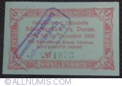 Image #2 of 50 Heller 1920 - Schwallenbach