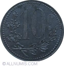 10 Centimes 1918