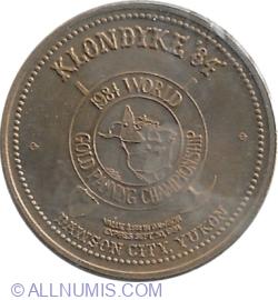Image #2 of 1 dollar 1984 - Dawson