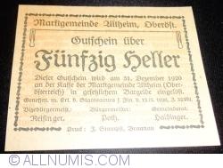 Image #2 of 50 Heller 1920 - Altheim