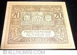 Image #1 of 20 Heller 1920 - Altheim