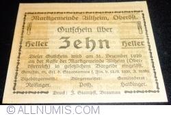 Image #2 of 10 Heller 1920 - Altheim