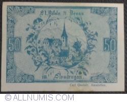 Imaginea #1 a 50 Heller ND - Sankt Nikola an der Donau