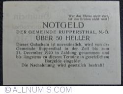 Imaginea #2 a 50 Heller ND - Ruppersthal