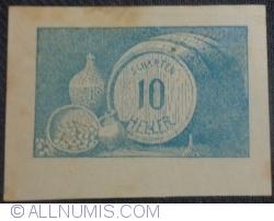 10 Heller 1920 - Scharten