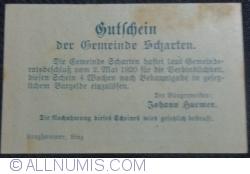 20 Heller 1920 - Scharten