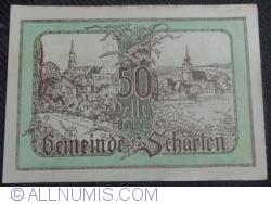 50 Heller 1920 - Scharten