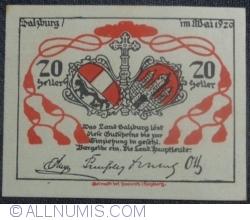 Image #2 of 20 Heller 1920 - Land Salzburg