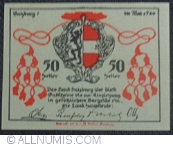 Image #2 of 50 Heller 1920 - Land Salzburg