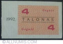 Imaginea #1 a 4 Talonas 1992 (mai - gegužė)