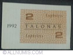 Imaginea #1 a 2 Talonas 1992 (noiembrie - lapkritis)