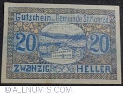 Image #1 of 20 Heller 1920 - Sankt Konrad