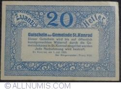 Image #2 of 20 Heller 1920 - Sankt Konrad