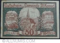 Image #1 of 50 Heller 1920 - Sankt Konrad