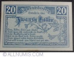 Imaginea #1 a 20 Heller 1920 - Sigmundsherberg