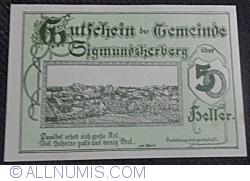 Imaginea #1 a 50 Heller 1920 - Sigmundsherberg