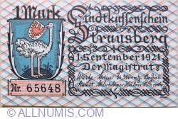 1 Mark 1921 - Strausberg