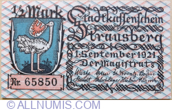 Image #1 of 1/2 Mark 1921 - Strausberg