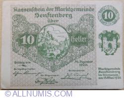 10 Heller 1920 - Senftenberg (Serie II)
