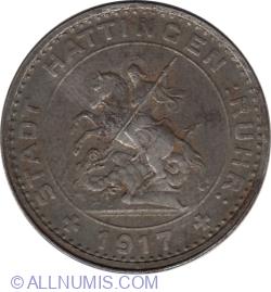 50 Pfennig 1917 - Hattingen