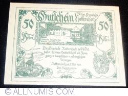 50 Heller 1920 - Natternbach