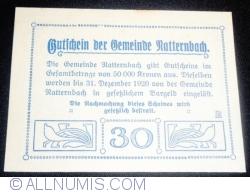 Imaginea #2 a 30 Heller 1920 - Natternbach