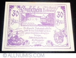 Imaginea #1 a 30 Heller 1920 - Natternbach