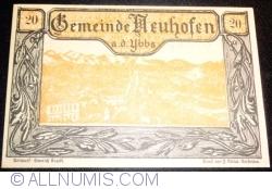Imaginea #1 a 20 Heller 1920 - Neuhofen an der Ybbs