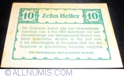 Image #2 of 10 Heller 1920 - Andorf
