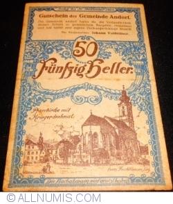 Image #1 of 50 Heller 1920 - Andorf