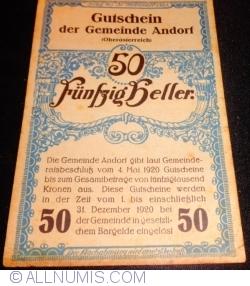 Image #2 of 50 Heller 1920 - Andorf