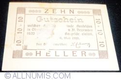 Image #2 of 10 Heller 1920 - Ansfelden