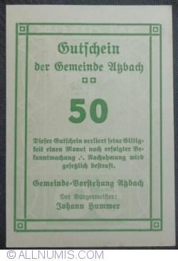 Imaginea #2 a 50 Heller ND - Atzbach