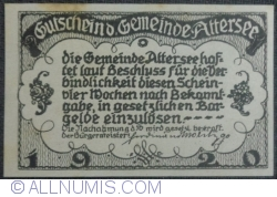 Imaginea #2 a 20 Heller 1920 - Attersee