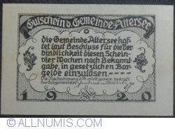 Imaginea #2 a 50 Heller 1920 - Attersee