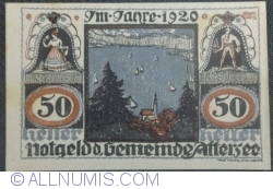 Imaginea #1 a 50 Heller 1920 - Attersee
