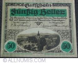 Imaginea #1 a 50 Heller 1920 - Sierning