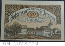 Imaginea #1 a 20 Heller ND - Sankt Johann
