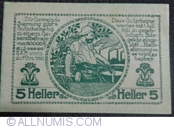 Imaginea #2 a 5 Heller 1920 - Sierning